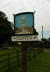 Denver Village Sign